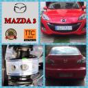 نصب بافر TTC بر روی مزدا 3 Mazda