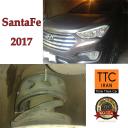نصب بافر TTC بر روی هیوندا سانتافه Hyundai Santa Fe