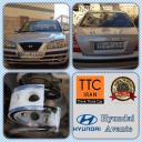 نصب بافر TTC بر روی هیوندا آوانته Hyundai Avante