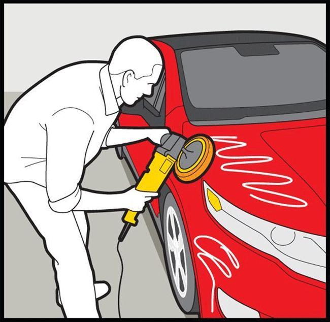 Polish Your Car Like a Pro 02 - با رعایت این نکات به خوبی از بدنه خودرو خود نگهداری کنید