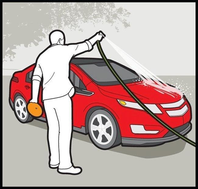 detailing step 1 photo 662809 s original - با رعایت این نکات به خوبی از بدنه خودرو خود نگهداری کنید
